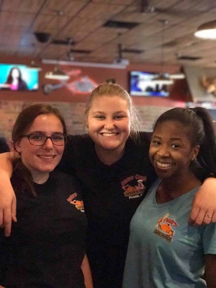 Happy Angry Crab Shack Employees
