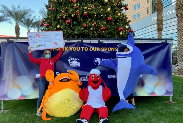 Angry Crab Shack charitable donation