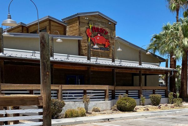 Exterior of Angry Crab Shack